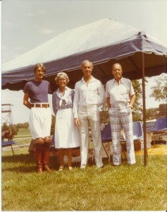 MB, Jorie, Frank and Paul Butler