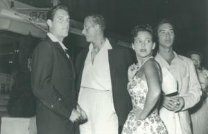 MB, Lord Hanson, Barbara Warner and Frank Butler