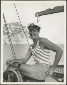 Michael Butler in the Mediterranean