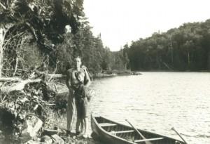 Paul Butler and Jorie in Canada