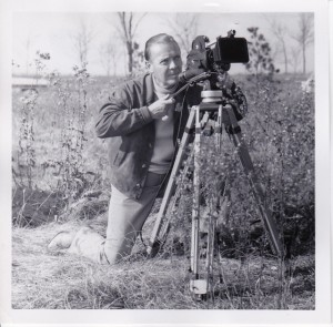Paul Butler with camera