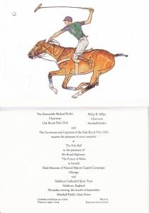 Prince Charles invite to Oak Brook