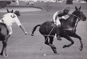 Michael Butler playing Polo, being hooked