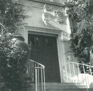 Palm Beach House front door