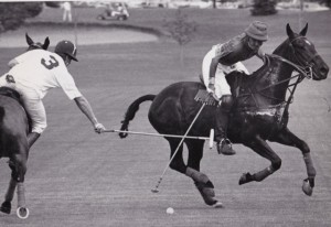 Michael Butler Polo, being hooked